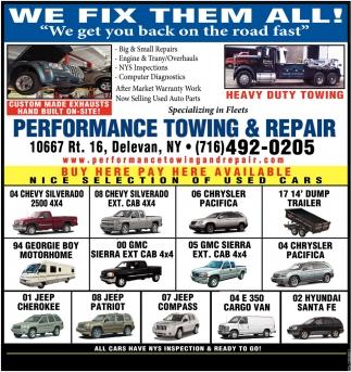 We Fix Them All!