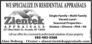We specialize In Residential