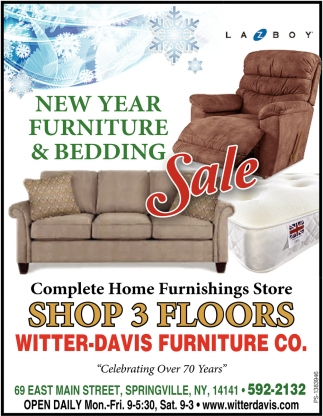 New Year Furniture And Bedding