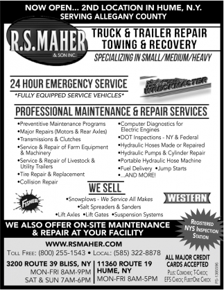 Truck And Trailer Repair Towing And Recovery