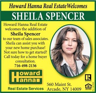 Howard Hanna Real Estate Welcomes - Sheila Spencer