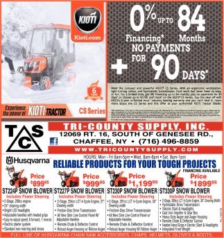 Experience The Power Of Kioti Tractor