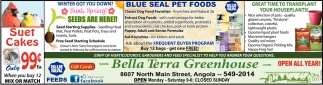 Bella Terra Greenhouse