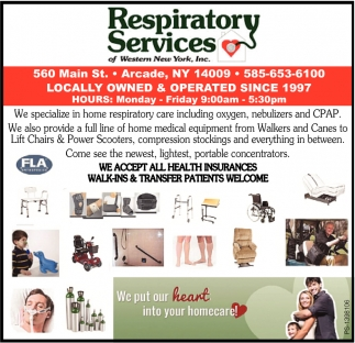 Respiratory Services