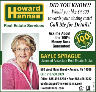 Real Estate Services Howard Hanna