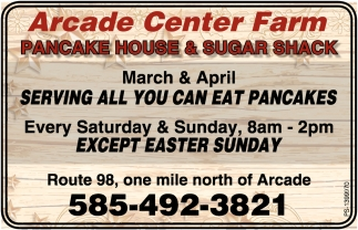 Pancake House & Sugar shack