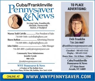 Cuba/Franklinville
