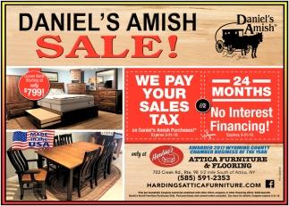 Daniel S Amish