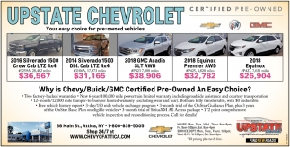 Your choice for pre-owned vehicles