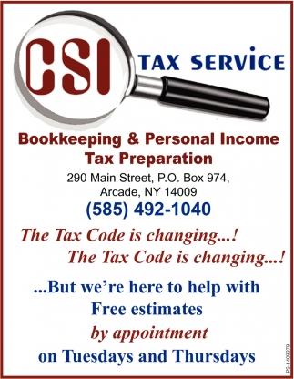 CSI Tax Service