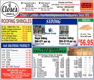 Close's Lumber, Close's Lumber, Olean, NY