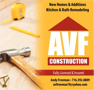 New Homes and Additions / Kitchen and Bath Remodeling