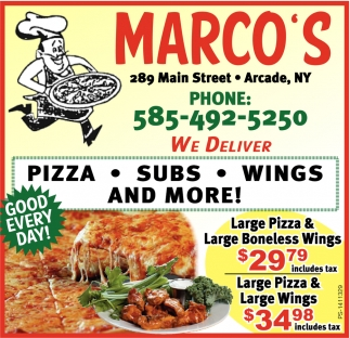 Pizza - Subs - Wings And More!