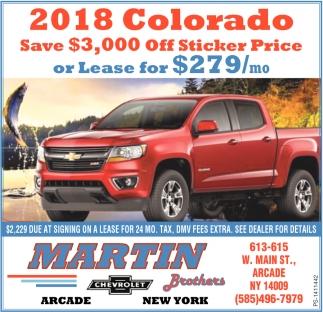 2018 Colorado