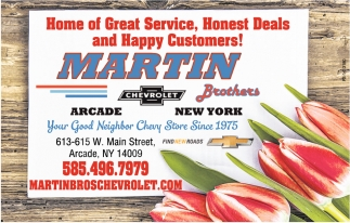 Home Of Great Service, Honest Deals And Happy Customers!
