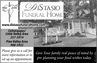 Give Your Family Real Peace Of Mind By Pre-Planning Your Final Wishes Today.