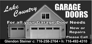 For All Your Garage Door Needs