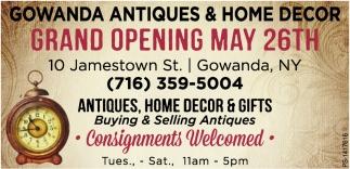Grand Opening May 26th