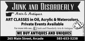 We Buy Antiques And Uniques