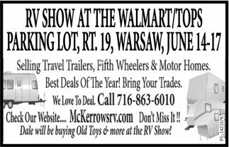 Rv Show At The Walmart Bob Mckerrow And Sons Inc