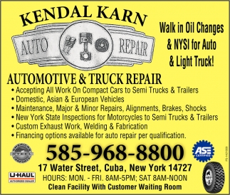 Automotive & Truck Repair