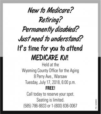 New Yo Medicare?
