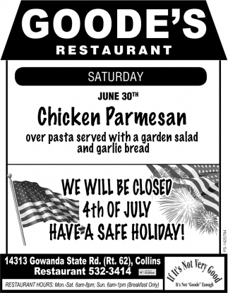 We Will Be Closed 4th Of July