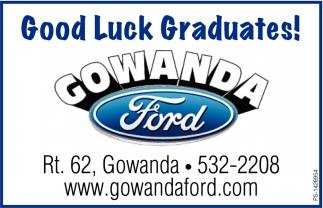 Good Luck Graduates!