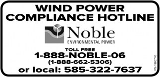 Wind Power Compliant Hotline