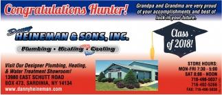 Congratulation Hunter!