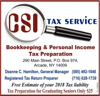 Free Estimates Of Your 2018 Tax Liability