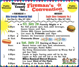 Fireman's Convention