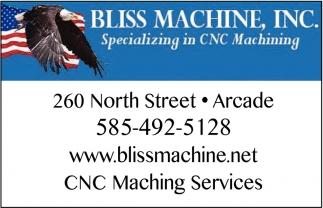 Specializing In CNC Machining