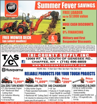 Summer Fever Savings
