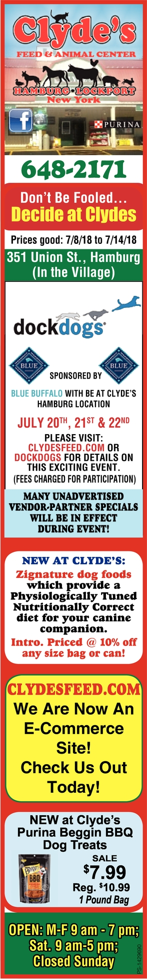 Don't Be Fooled, Decide At Clyde's!