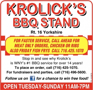 #1 BBQ Service For Over 14 Years!