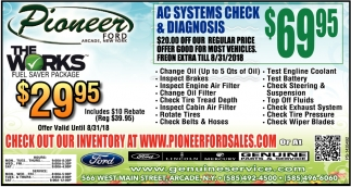 Check Out Our Inventory