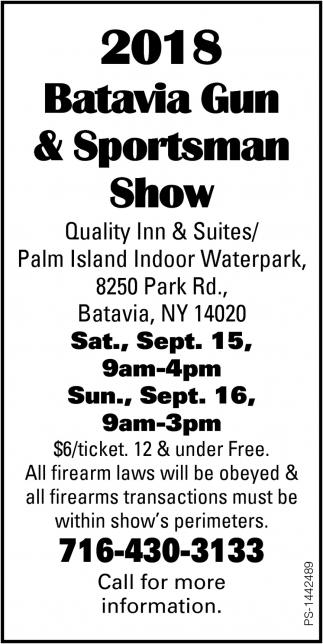 Batavia Gum & Sportsman Show