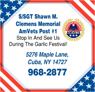 Stop And See Us During The Garlic Festival!