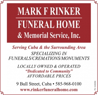 Specializing In Funerals