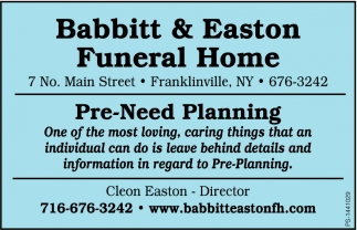 Full Service Funeral Home
