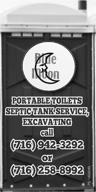 Portable Toilets Septic, Tank Service, Excavating