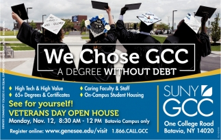 We Chose GCC