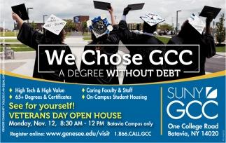 We Chose GCC