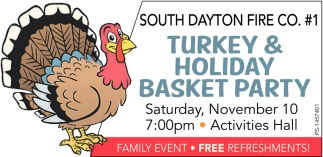 Turkey & Holiday Basket Party