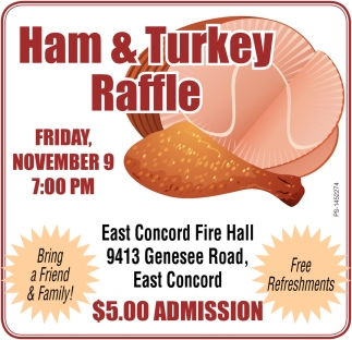 Ham & Turkey Raffle