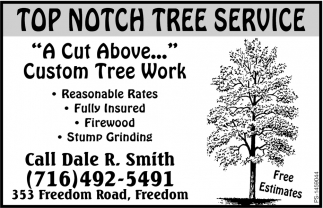 A Cut Above... Custom Tree Work