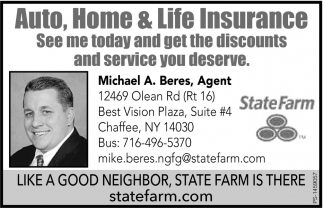 Auto, Home and Life Insurance