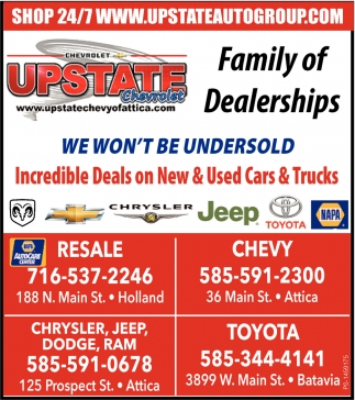 Family Of Dealerships