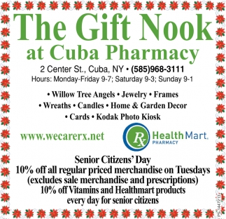 The Gift Nook At Cuba Pharmacy